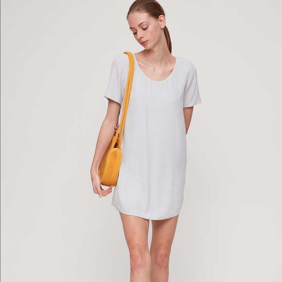 WILFRED FREE | Japanese Crepe T Shirt Dress